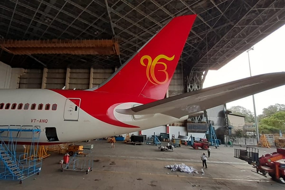 Air India Ik Onkar