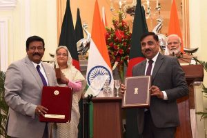India, Bangladesh inaugurate 3 bilateral projects, ink 7 pacts after Modi-Hasina talks