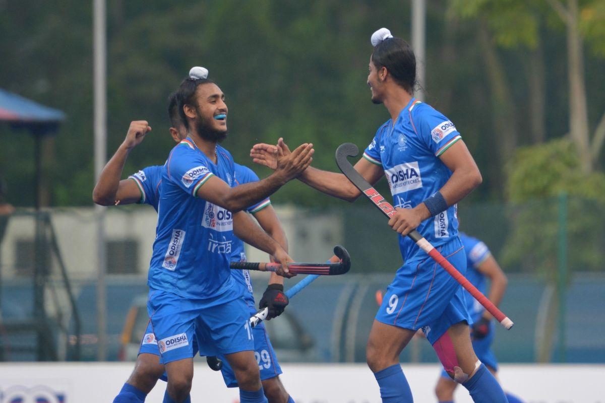 Indian Jr men's hockey team in final of Sultan Johor Cup