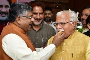 Manohar Lal Khattar elected leader of BJP Legislature Party