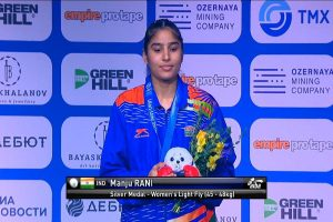 World Boxing Championships: Manju Rani wins silver after losing 48 Kg category final
