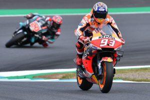 Honda's Marquez bags maiden MotoGP pole in Motegi
