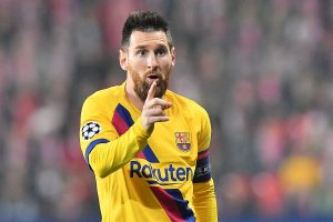 Lionel Messi names the best forward he has seen in his life