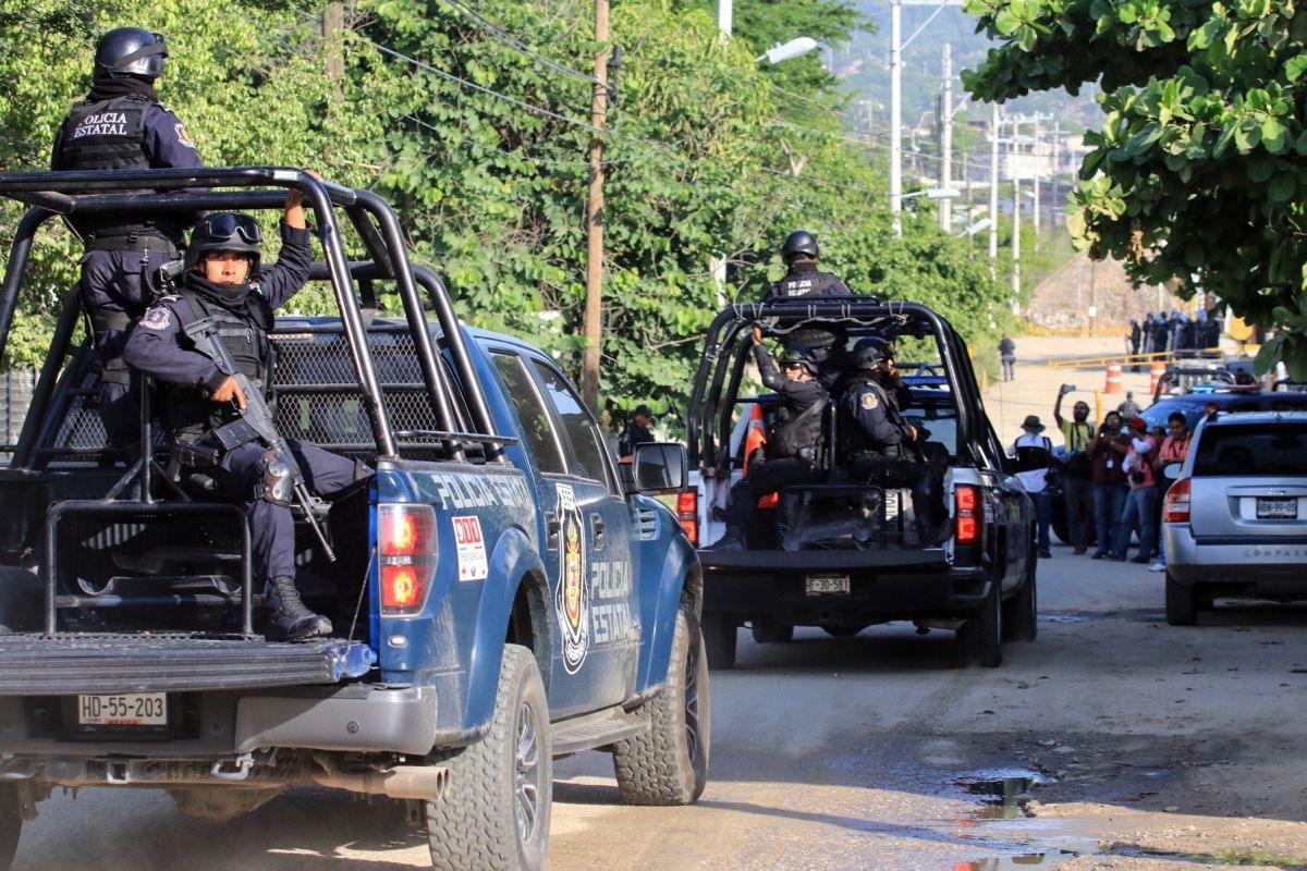 15 killed in armed clashes in southern Mexico