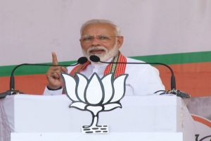 'Doob maro,' says PM Modi as oppn questions link between Article 370, Maharashtra polls