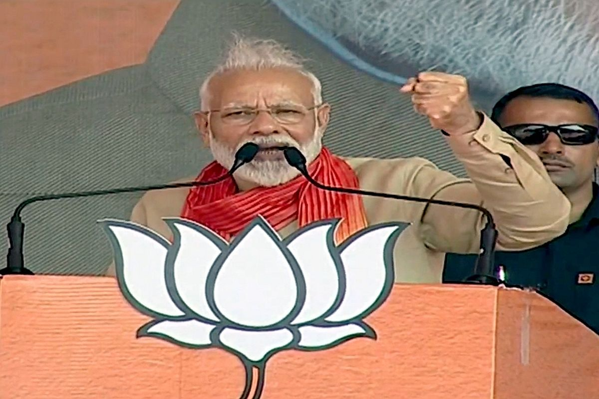 'Won't allow our share of water to flow into Pakistan,' assures PM Modi at Haryana rally