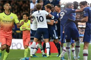 English Premier League: Tottenham stumbles again; City back on winning track; Chelsea, Leicester in top four