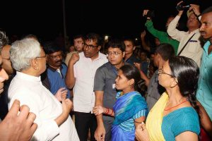 Is Patna flood only problem we have, what about US? CM Nitish Kumar fumes after protests