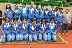 Indian paddlers win 7 medals in Oman Jr and Cadet Open