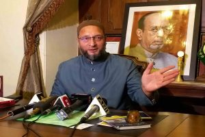 'Mahatma Gandhi only in words, Godse their hero': Asaduddin Owaisi attacks BJP
