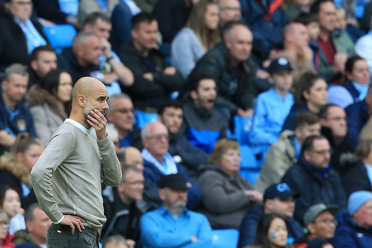 Pep Guardiola, Manchester City, Premier League, David Silva, Tottenham Hotspur