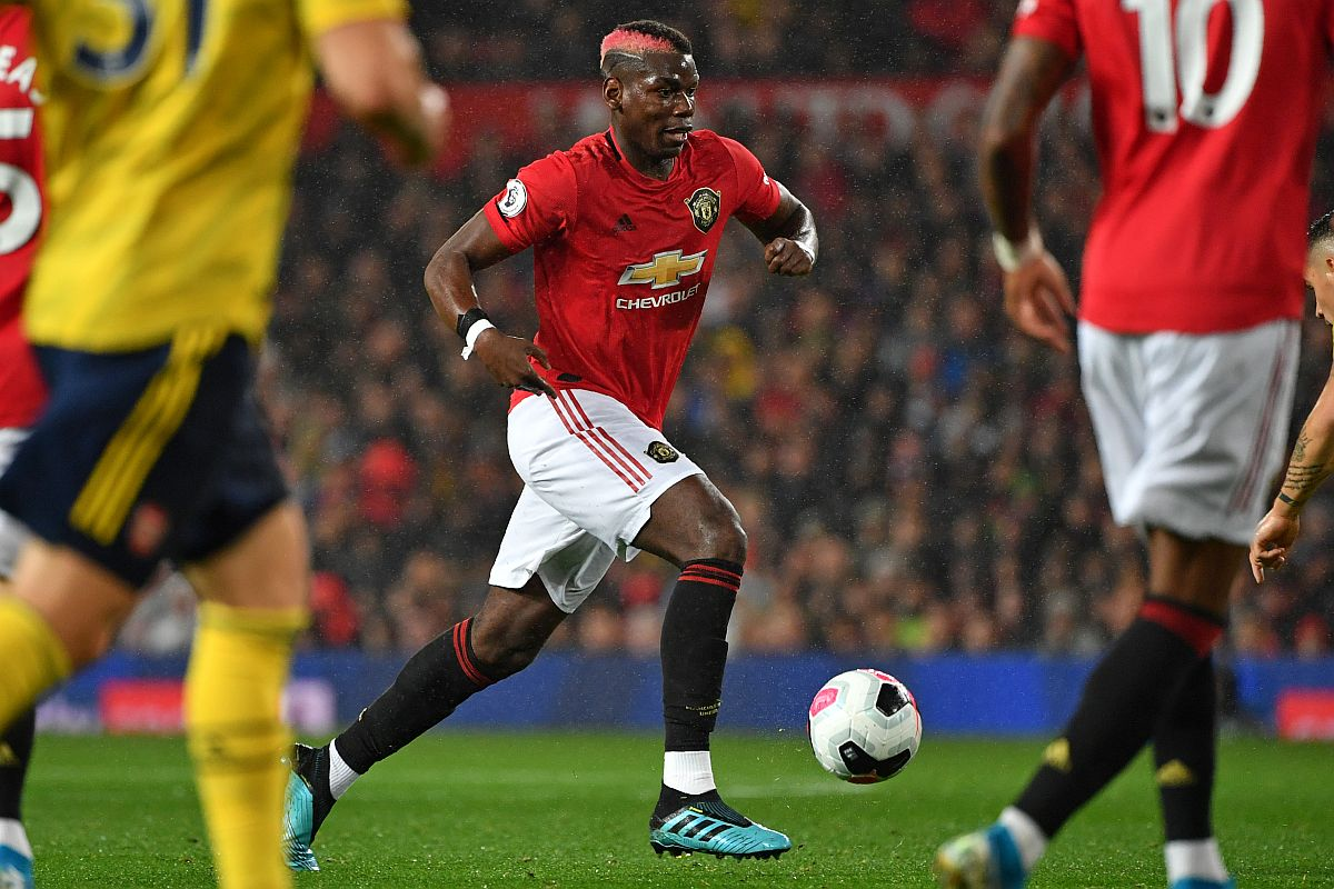 Manchester United, Paul Pogba, Real Madrid. Premier League