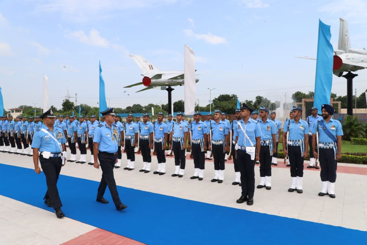 Air Marshal SK Ghotia, SWAC, New Delhi, South Western Air Command, National Defence Academy, Indian Air Force, IAF