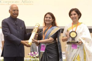 President Ram Nath Kovind presents NCSR Awards