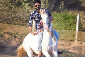 Chandravirsinh Solanki is an animal lover and successful lifestyle influencer