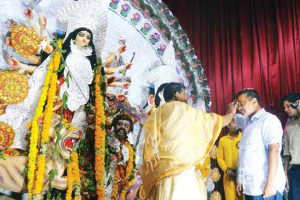 Durga Puja being celebrated across Delhi NCR