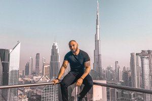 Dubai's Gokhan Girmez is a fashion blogger and renowned restaurateur