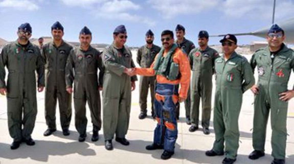 IAF chief to visit Oman to witness Exercise Eastern Bridge 19