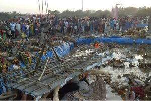 Artificial ponds for immersion of Goddess Durga idols leave devotees unhappy due to small size