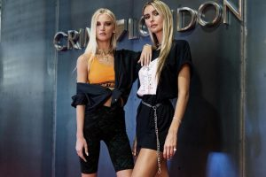Lisa and Jessica Kistermann of CrimeLondon are voted as one of the fastest-growing fashion influencers