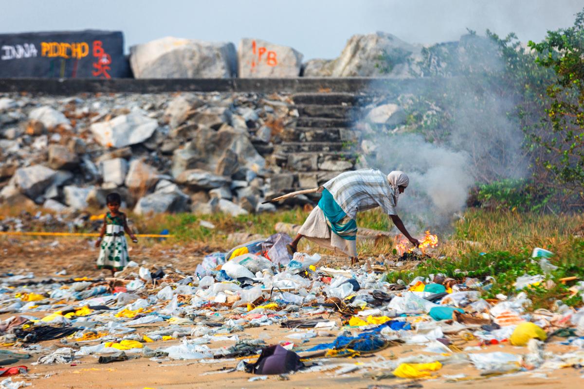 The plastic waste, India, World Environment Day