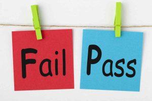 Pass/Fail system