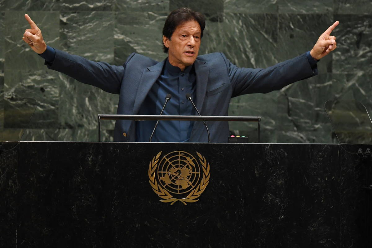 Mr Khan's hot air, Imran Khan, Kashmir, Narendra Modi