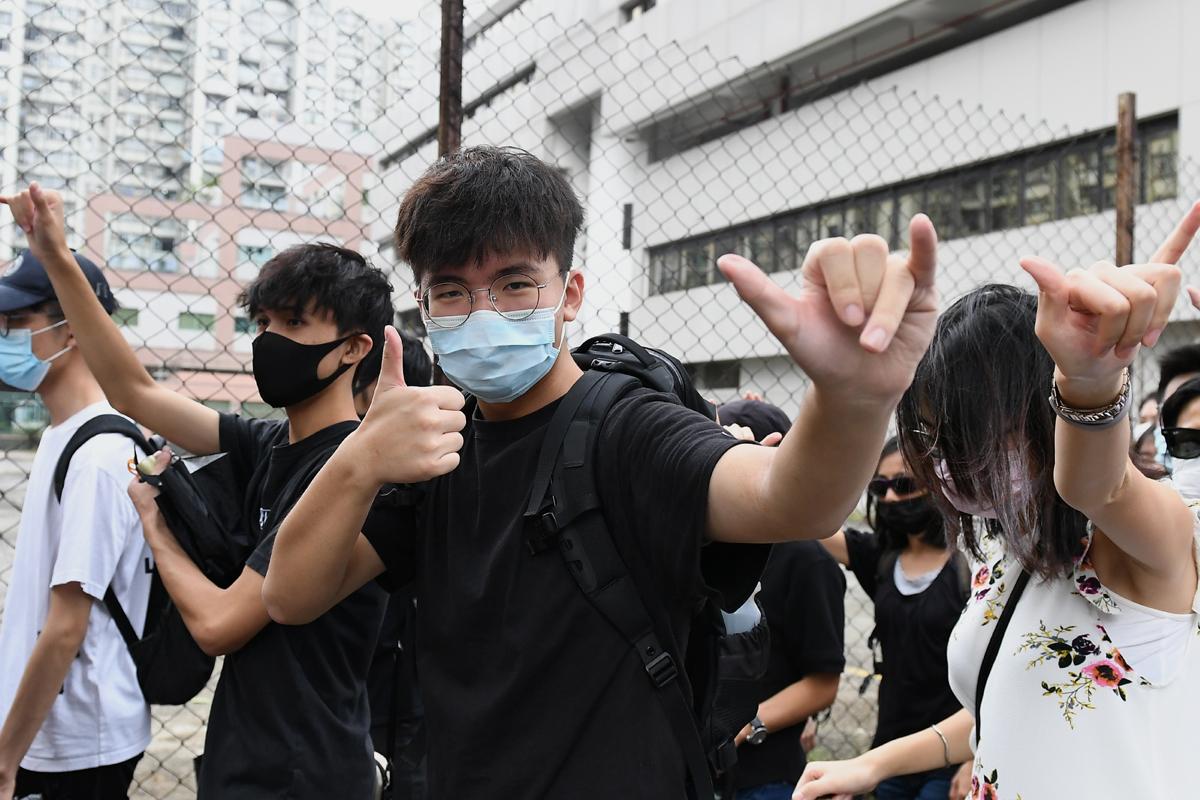 Hong Kong unmasked, Hong Kong, Carrie Lam