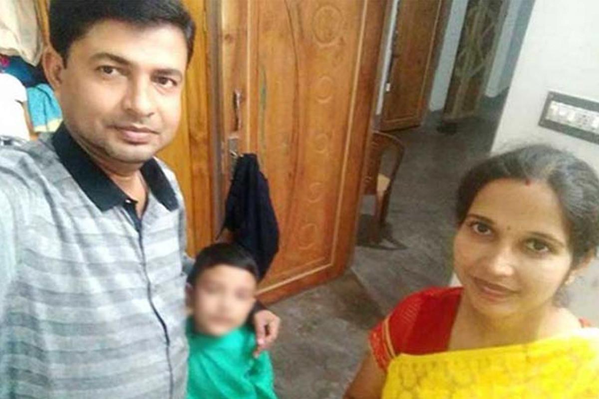 Triple tragedy, Durga, Murshidabad