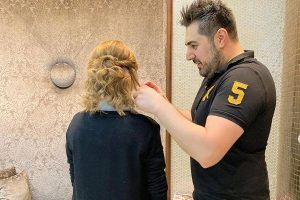 Rafi Kouyoumjian transforms dull hair into crowning glory with finesse