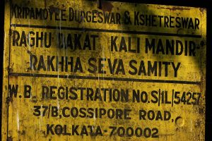 What's on goddess's menu at Raghu Dakat's Kali temple? A roasted fish