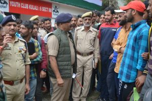 DGP Dilbag Singh tours LoC areas, reviews security situation