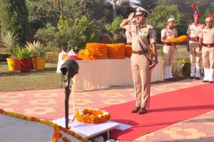 Haryana DGP pays homage to police martyrs