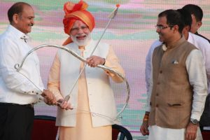 Narendra Modi attends Dussehra celebrations in Delhi, lauds IAF