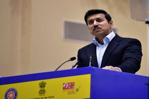 Rajyavardhan Rathore declines to comment on shooting's exclusion from CWG