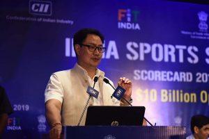 No sporting event in near future: Kiren Rijiju