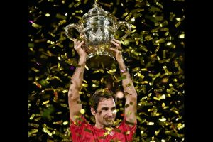 'I am just so happy right now': Roger Federer after 10th Swiss Indoors title