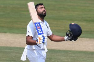 Rohit Sharma adds another feather to cap, equals Rahul Dravid's record