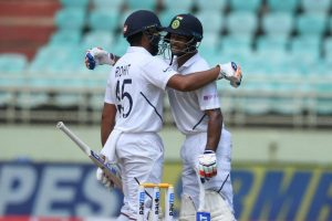 Vizag Test Day 1: Rohit Sharma's ton helps India dominate; rain forces early stumps