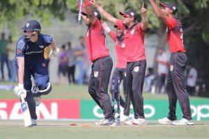 ICC Men's T20 World Cup Qualifier 2019: Singapore pip Scotland by 2 runs