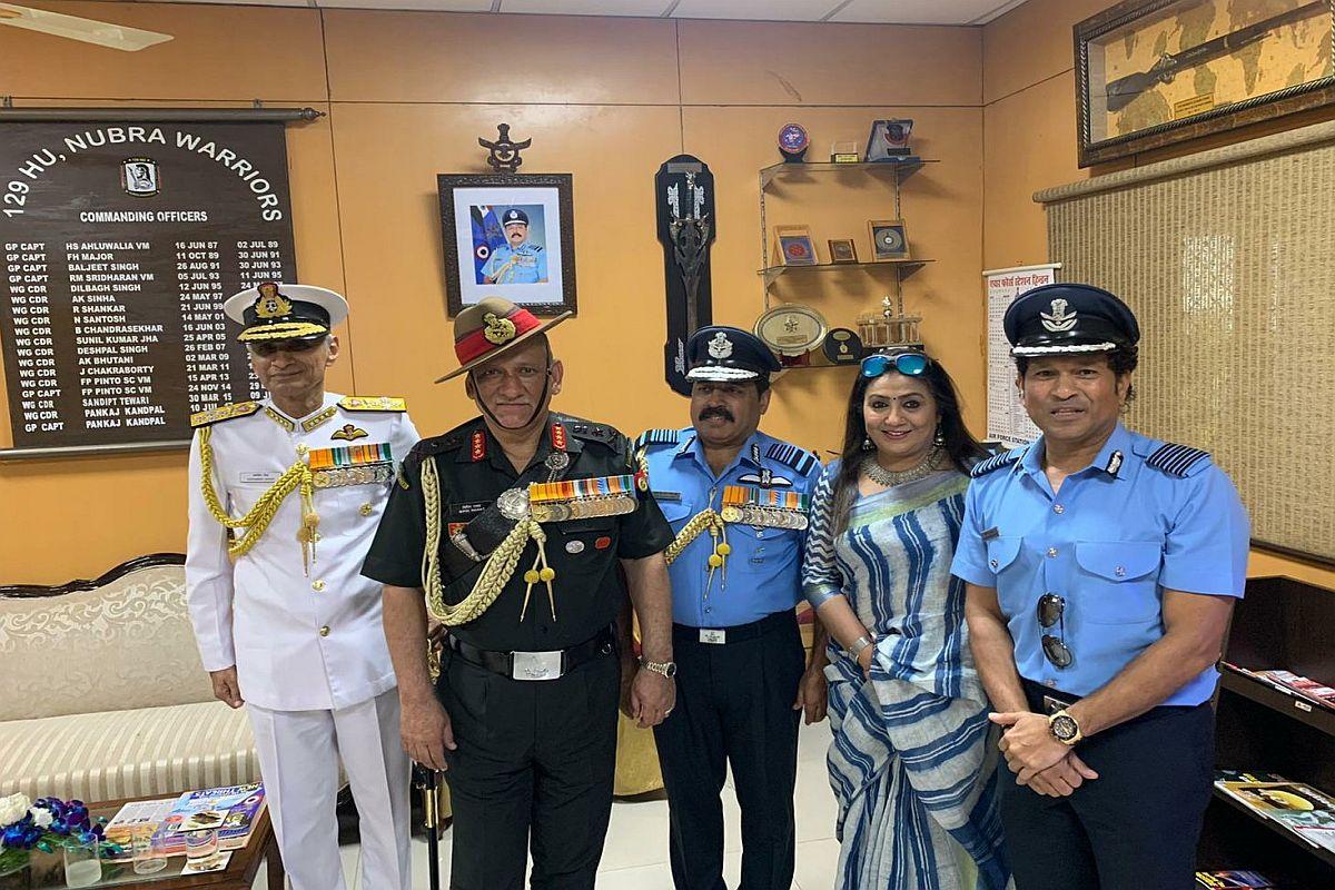 Sachin Tendulkar, IAF, Indian Air Force, Group Captain, Abhinandan Varthaman, Abhinandan