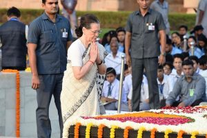 'Mahatma's soul would have pained': Sonia Gandhi targets BJP on Gandhi Jayanti