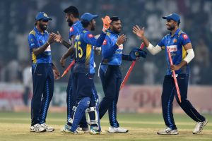 Sri Lanka defeat top-ranked Pakistan by 64 runs in first T20I