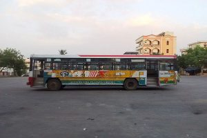 Buses go off the road in Telangana as TSRTC strike begins, passengers stranded