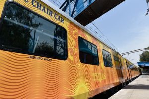 Tejas Express to compensate passengers for delay about 2 hours