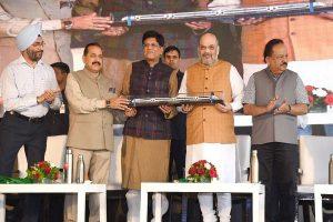 Amit Shah flags off Delhi-Katra Vande Bharat Express, says 'big gift' for J-K's progress