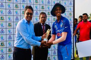 India U-19 thrash South Africa in first youth ODI