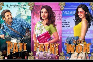 Kartik Aaryan starrer 'Pati Patni Aur Woh' character posters out