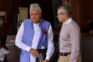 J-K: NC leaders meet Abdullahs after two months into detention
