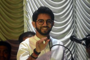 Shiv Sena's Aaditya Thackeray files nomination from Mumbai's Worli amid show of strength